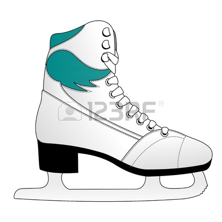 450x450 Ice Hockey Skates Royalty Free Cliparts, Vectors, And Stock