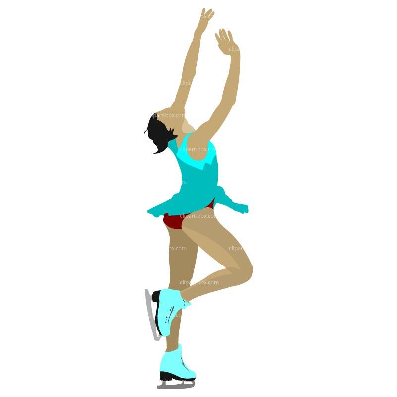 800x800 Figure Skater Cliparts 209225