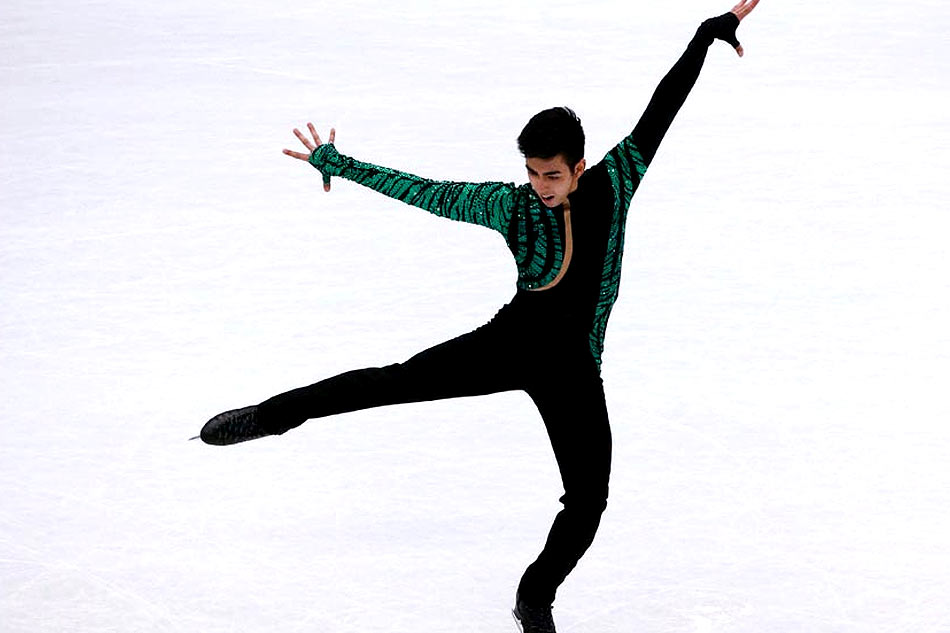 950x633 Figure Skating Michael Martinez Moves On After Olympic Ticket Is