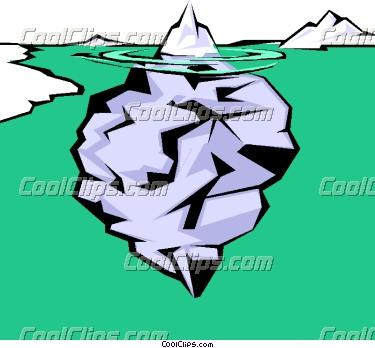 375x348 Iceberg Clipart Tip Iceberg