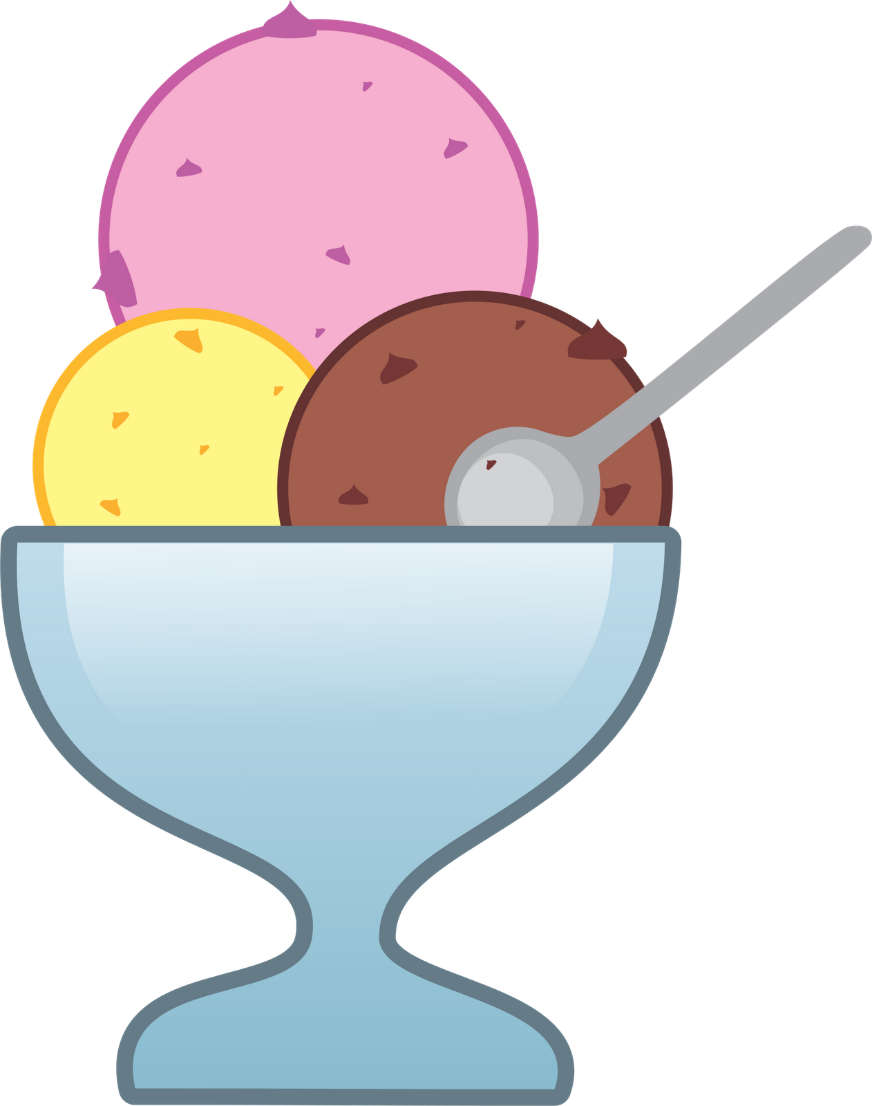 1262x1600 Free Ice Cream Cup Clipart Image