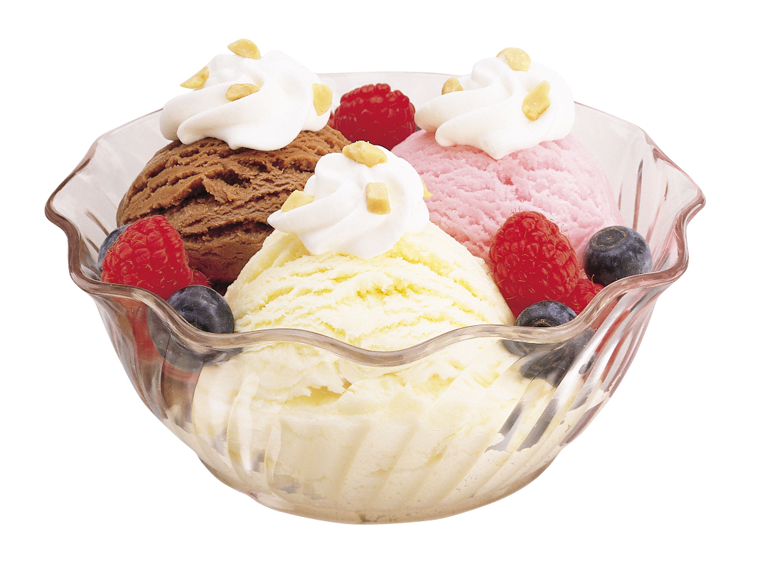 1079x807 Image Of Ice Cream Bowl Clipart