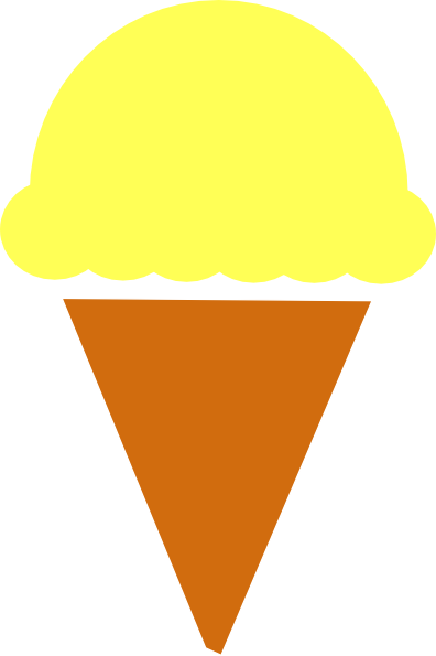 396x595 Orange Ice Cream Clip Art Cliparts