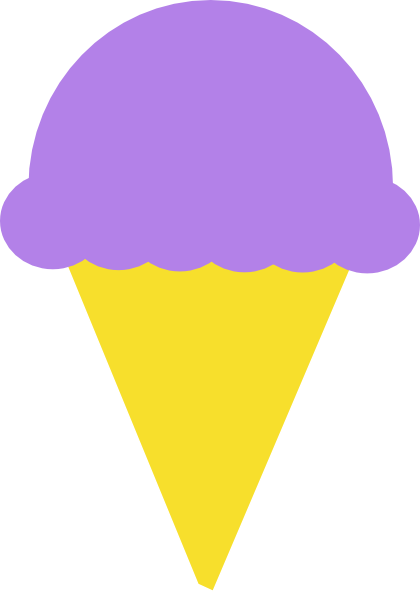 420x592 Violet Clipart Ice Cream