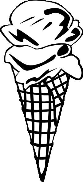 270x587 Ice Cream Cones Ff Menu clip art Free Vector 4Vector