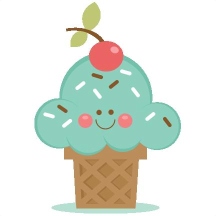 432x432 Ice Cream Cone Svg Scrapbook Cut File Cute Clipart Files