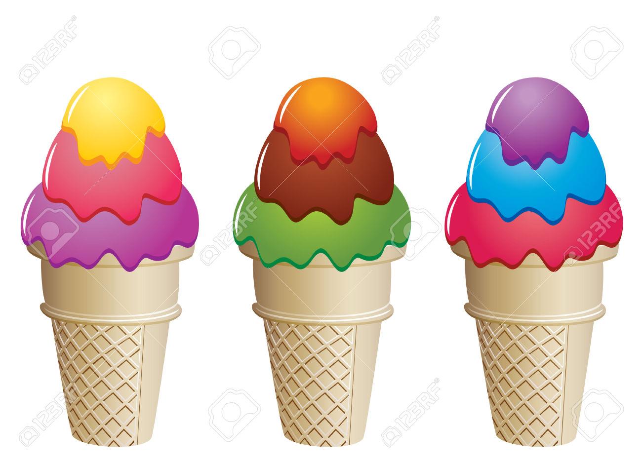 1300x936 Clip Art Ice Cream Cone Clip Art