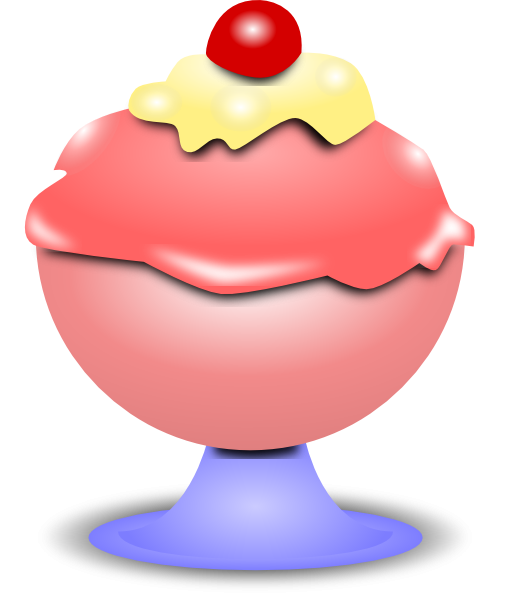 510x594 Ice Cream Clip Art