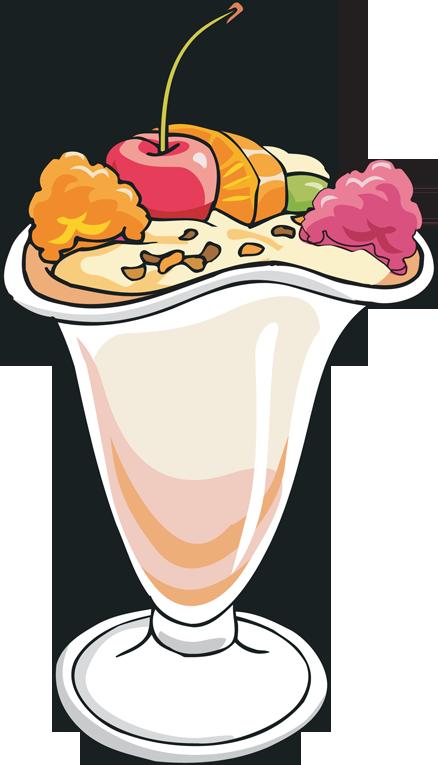 438x765 Free clip art ice cream sundae clipart