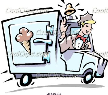 Icecream Truck Clipart