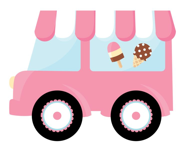736x585 Ice Cream Truck Clipart