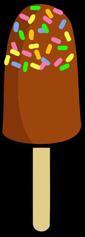 288x800 Ice cream sundae clip art