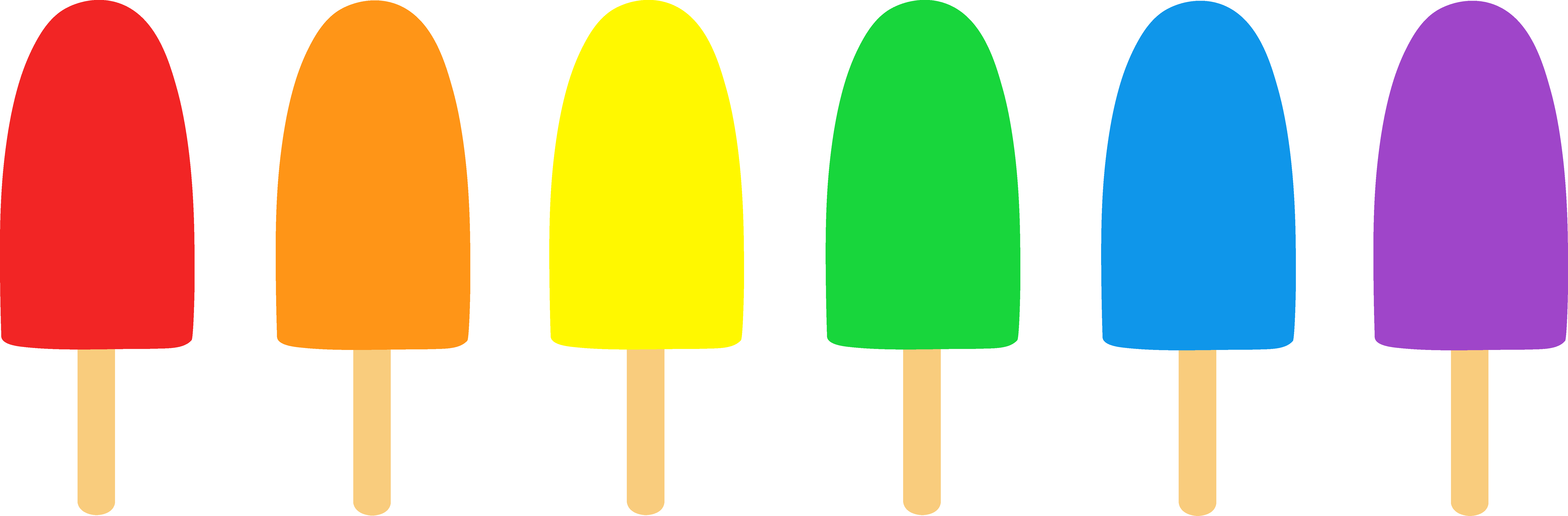 7825x2573 Popsicle Border Clipart (26+)