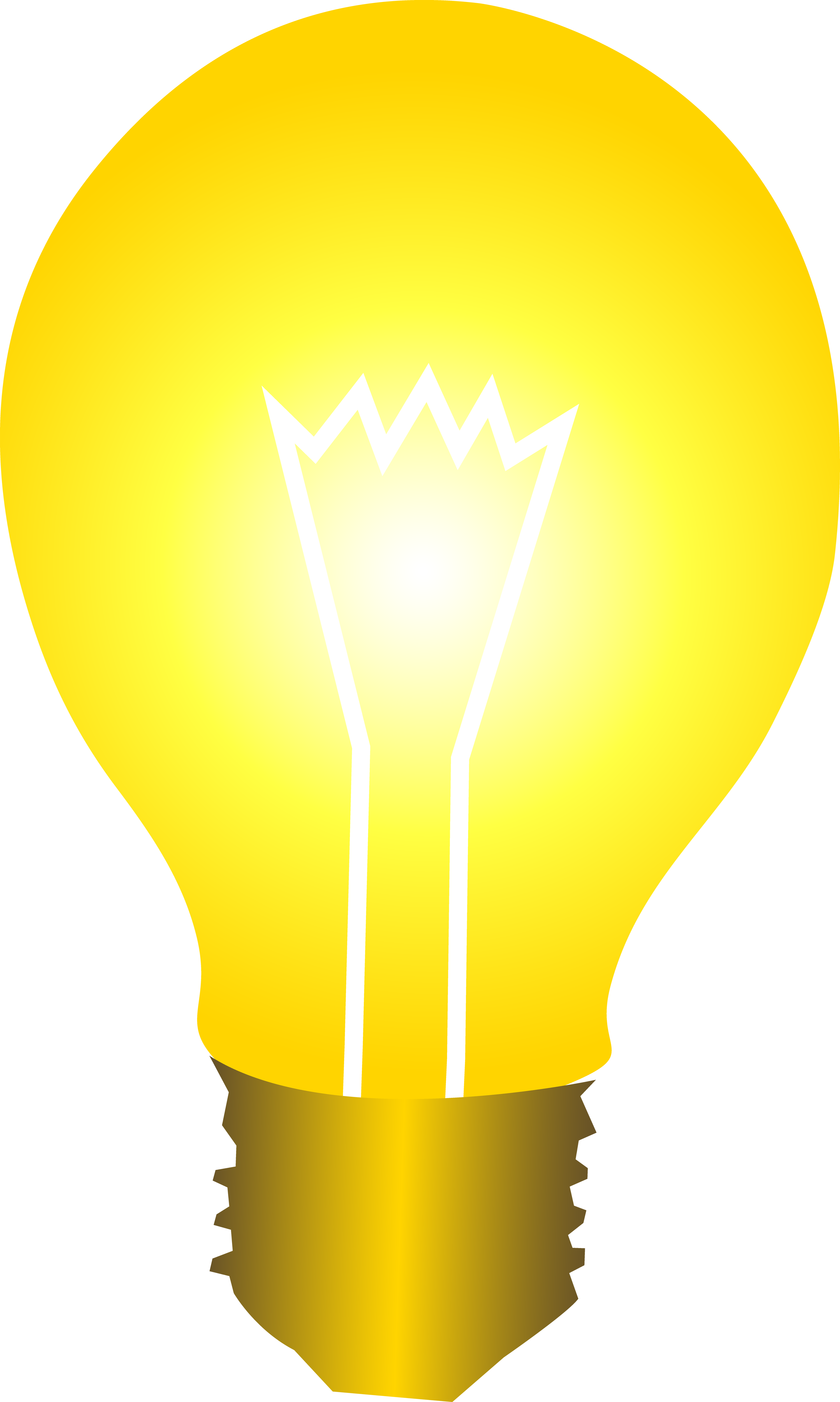 2997x5000 Bright Yellow Idea Light Bulb