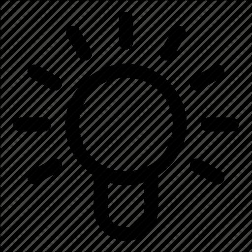 512x512 Idea, Lamp, On Icon Icon Search Engine