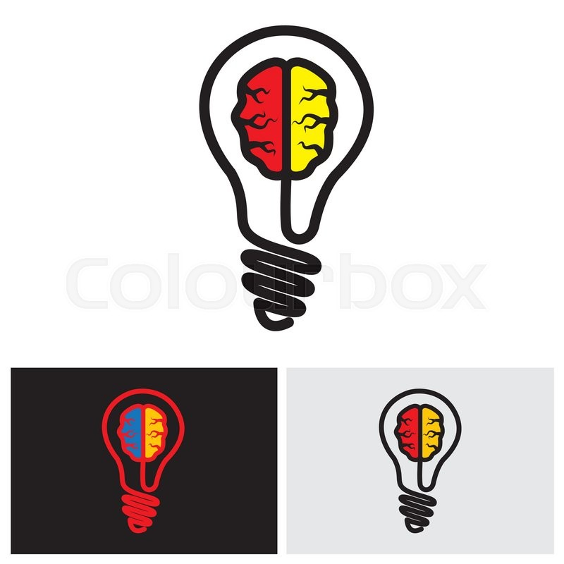 800x800 Brain Bulb Icon, Brain Bulb Icon Vector, Brain Bulb Icon Eps 10