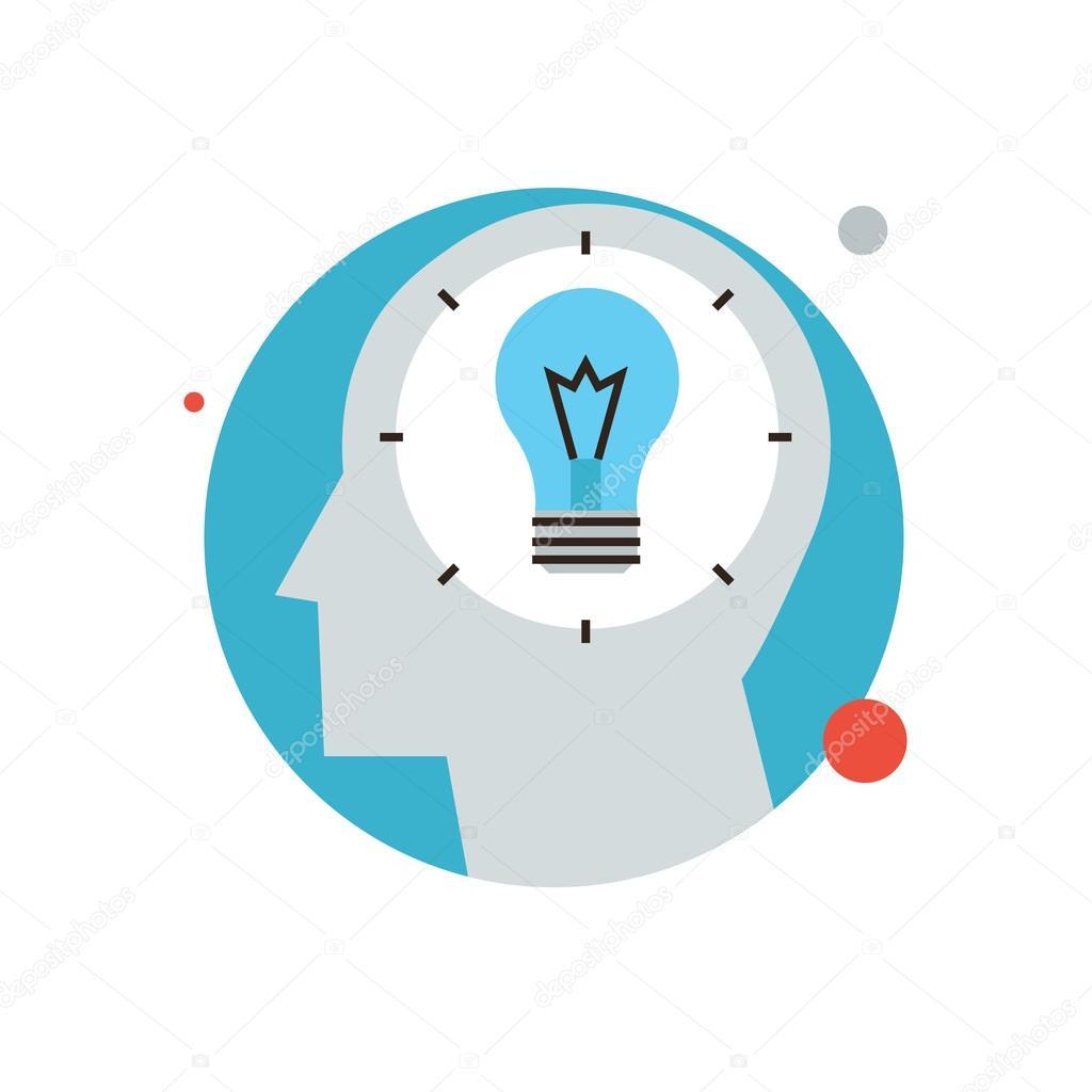 1024x1024 Success Idea Icon Concept Stock Vector Bloomua