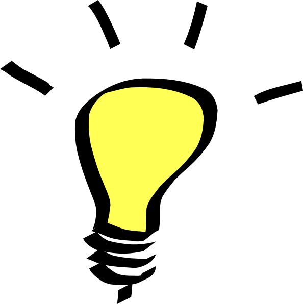 594x596 Light Bulb Svg Clip Art