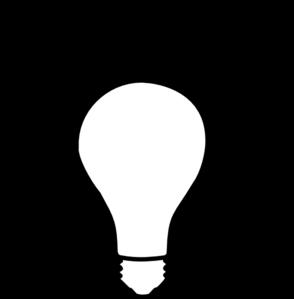 294x299 Idea Light Bulb Clip Art