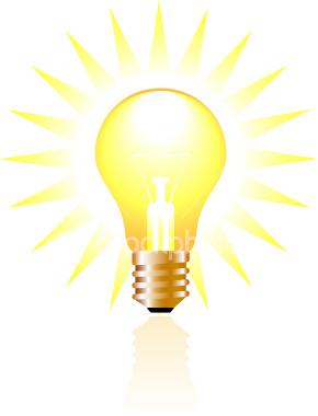 290x380 Light Bulb Clipart Glowing