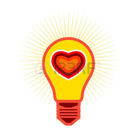 450x450 Light Bulb Idea With Brain Vector Logo Template. Corporate Icon