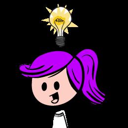 260x260 Lightbulb Idea Clipart