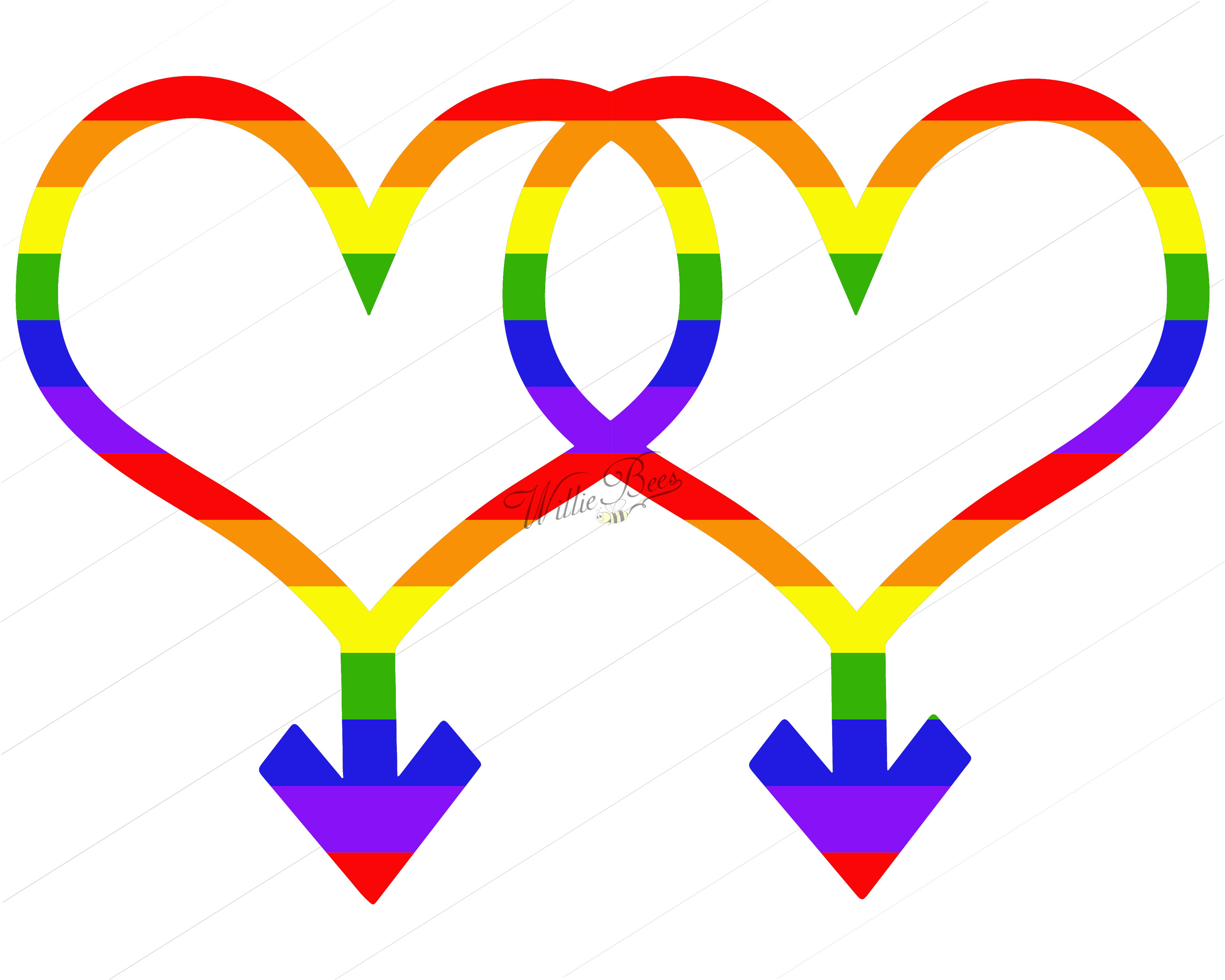 3000x2400 Gay Pride Symbol Clipart Png And Svg Gender Identity