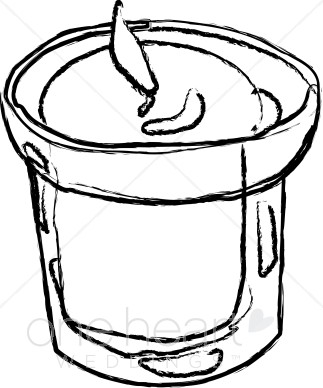323x388 Candles Black And White Clipart