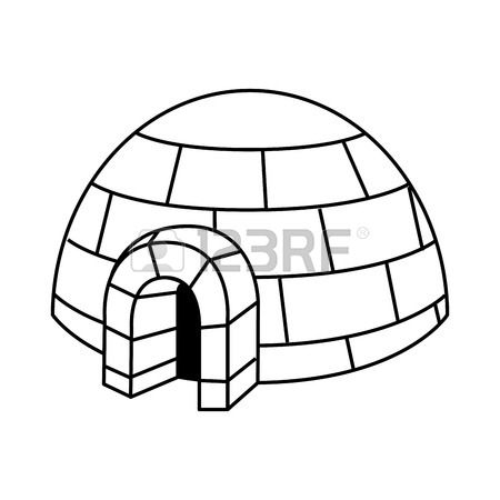 450x450 Igloo Icy Cold House Built From Ice Blocks, Traditional House