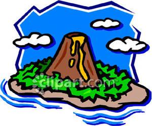 300x249 Volcano Clipart Hawaii Island