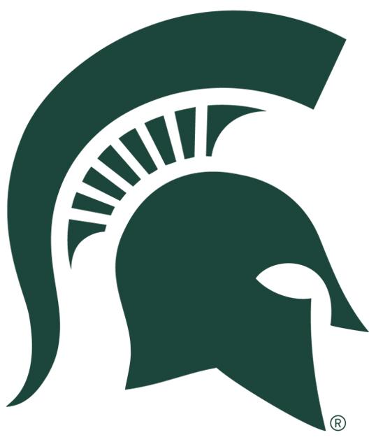 538x632 Michigan State Logo Clip Art