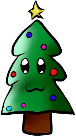 250x450 12 Best Clip Art Images Christmas Tree, Christmas