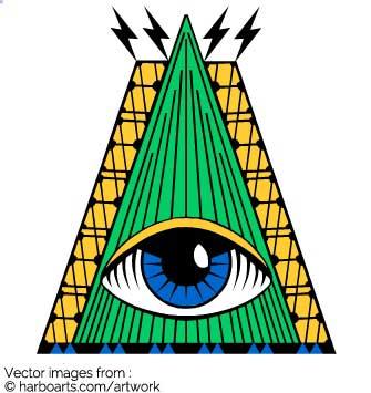 335x355 Illuminati Clipart Pyramid