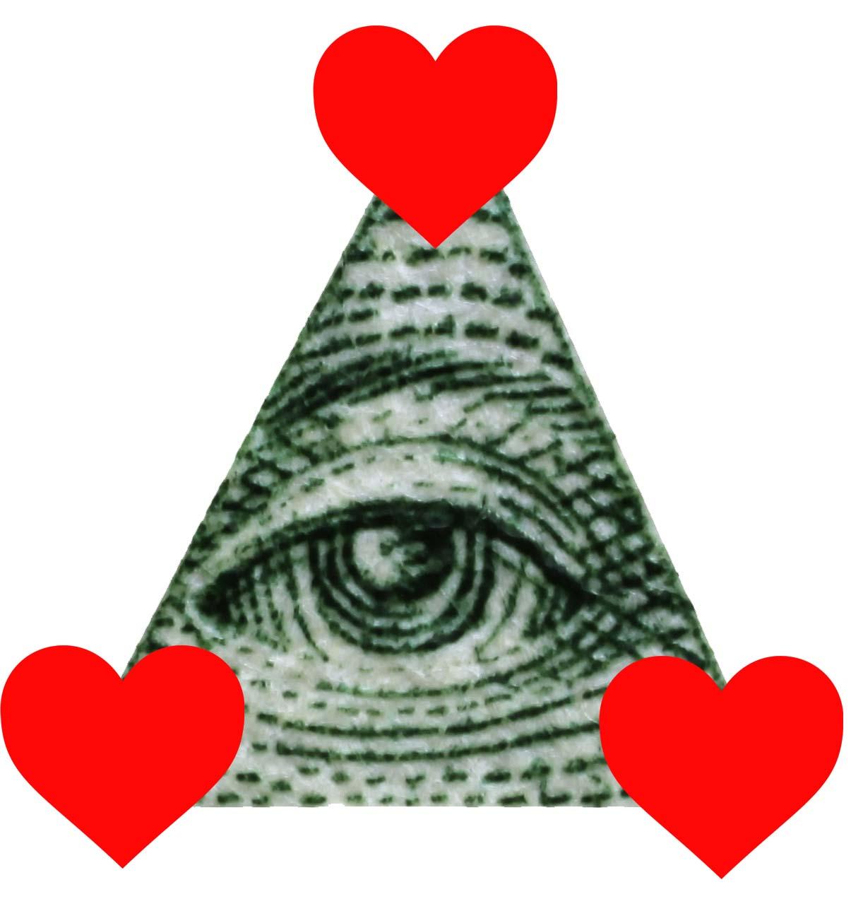 1222x1272 Illuminati Clipart Seen