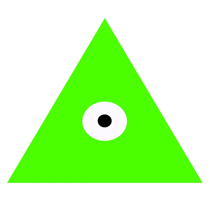 800x800 Illuminati Clipart Simple