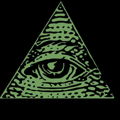 512x512 Illuminati Clipart Transparent