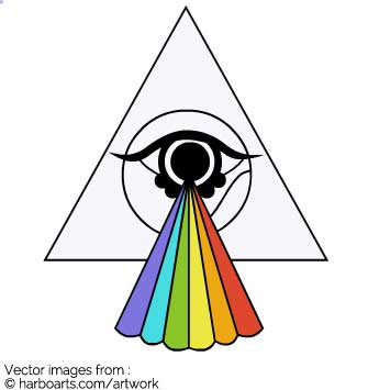 335x355 Illuminati Clipart Vector