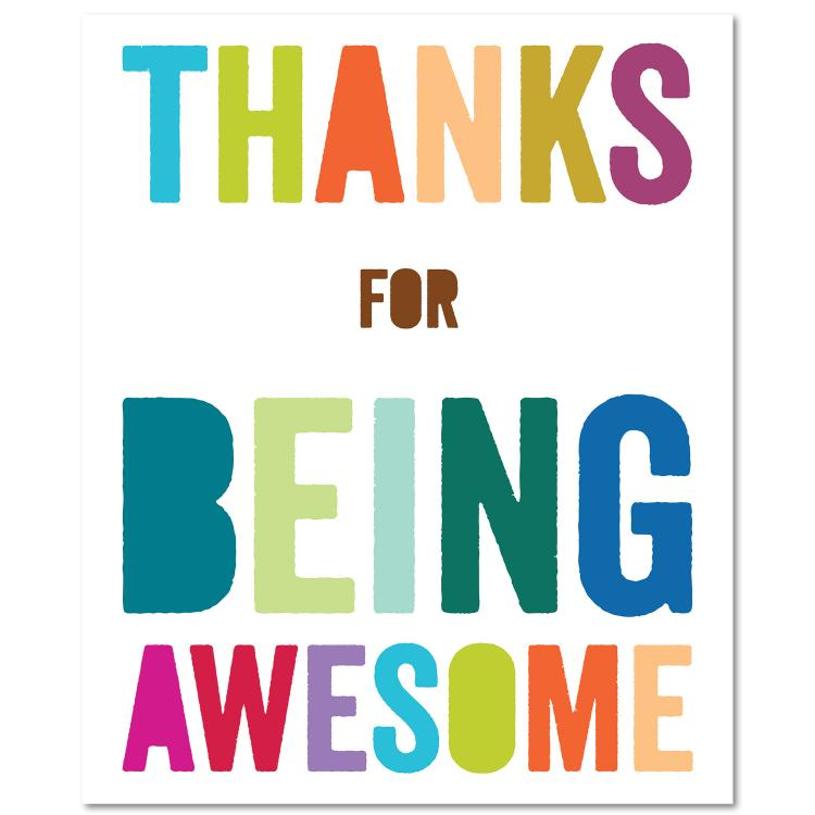 750x750 Thanks For Being Awesome Themed Thank You Gifts Successories