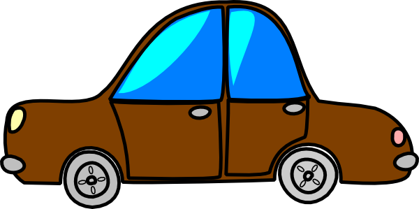 600x299 Car Brown Cartoon Transport Clip Art