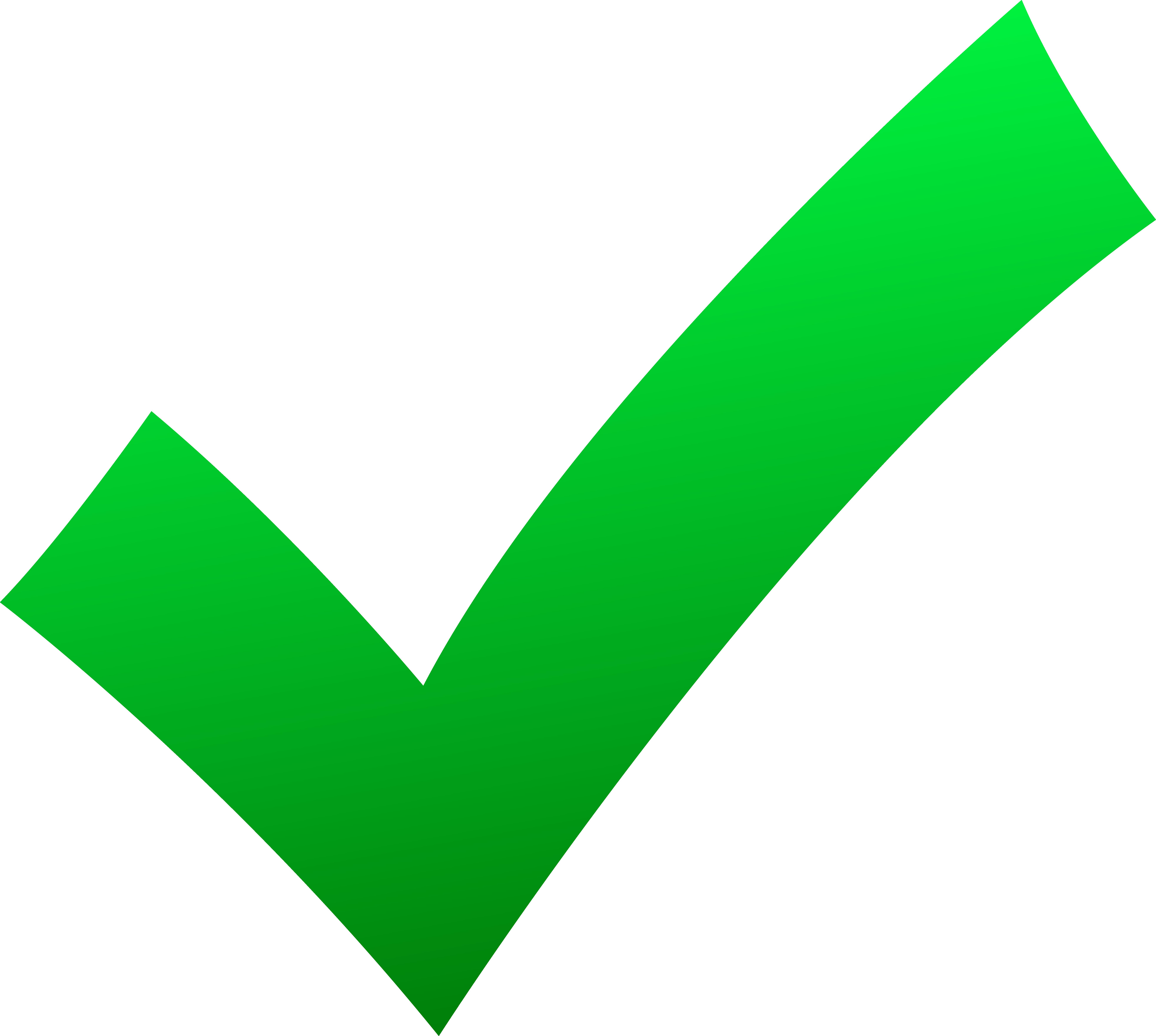 7855x7040 Green Tick Check Mark Tick Green Clipart