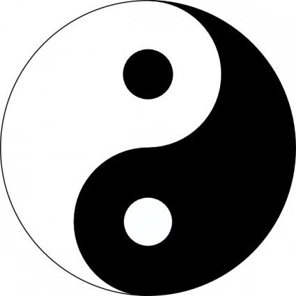 425x425 Yin Yang Clip Art Clipart Panda