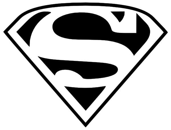 600x455 Superman Logo Clip Art Item Clipart Panda