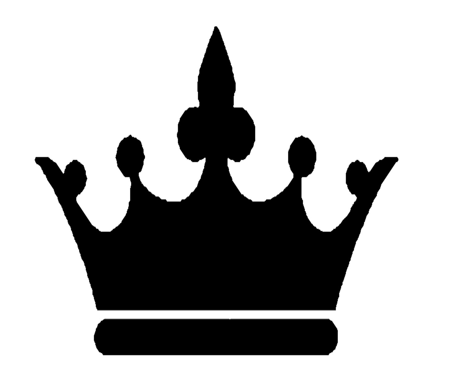 1461x1219 Crown Clipart Black And White