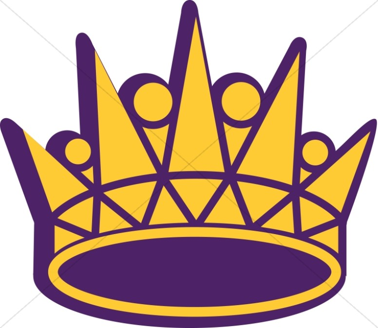 776x674 Gold And Purple Crown Crown Clipart