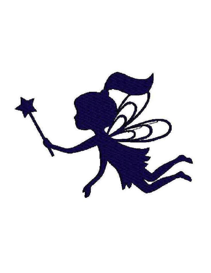 736x952 Best Fairy Clipart Ideas Fairy Silhouette, Moon