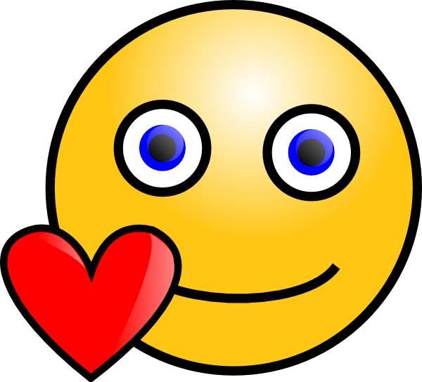 600x544 Love Clipart Smiley Emoticon