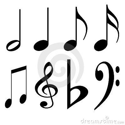 400x400 Musical Notes Clip Art. Clipart Panda