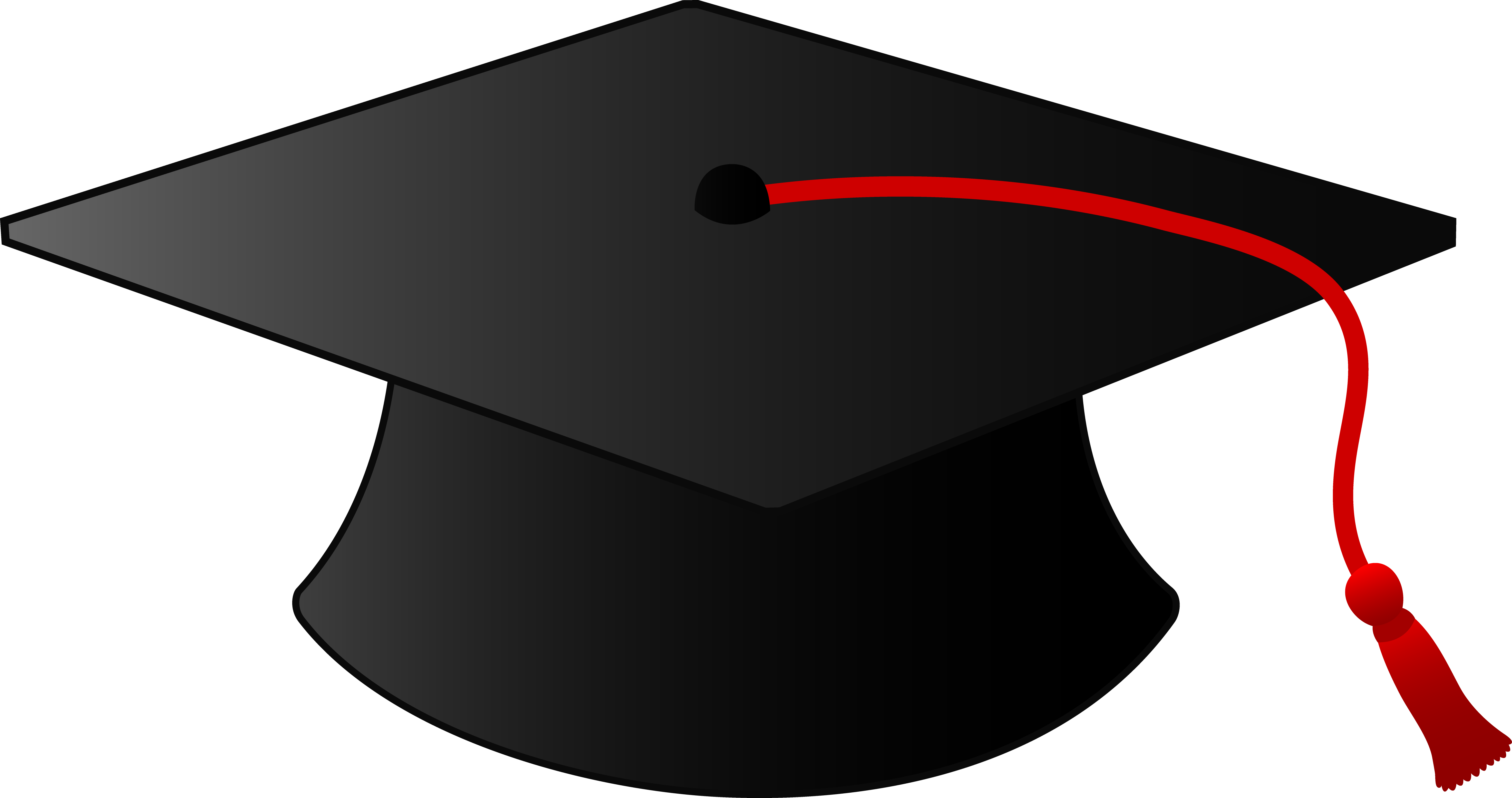 6204x3275 Graduation Hat Graduation Cap Clipart No Background Free