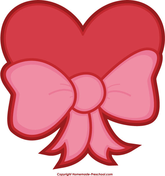 569x606 Clipart Valentine Heart