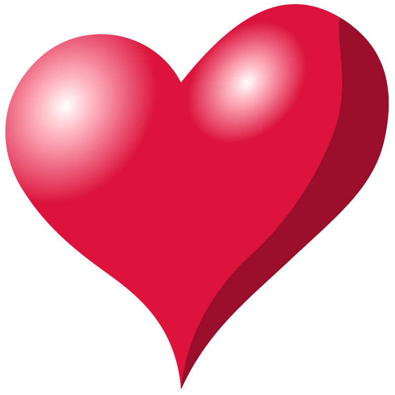 800x800 Heart Shaped Clipart Abstract Heart
